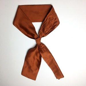 Vintage silk neck tie scarf